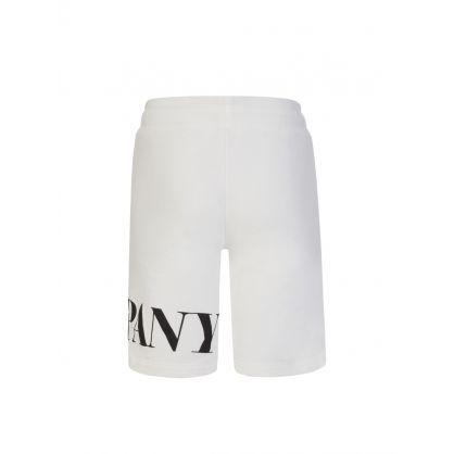 Off White Logo Sweat Shorts