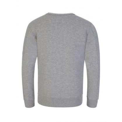 Grey Lens Arm Logo Sweatshirt