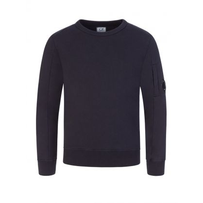 Navy Lens Arm Sweatshirt