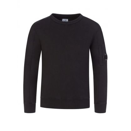 Black Lens Arm Sweatshirt