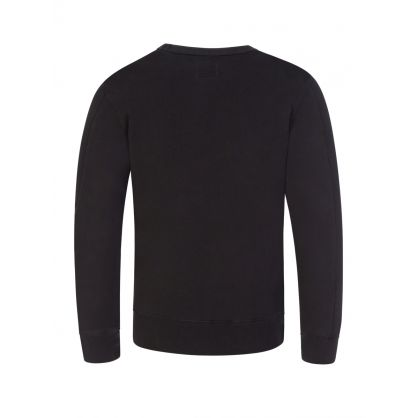 Black Lens Arm Sweatshirt