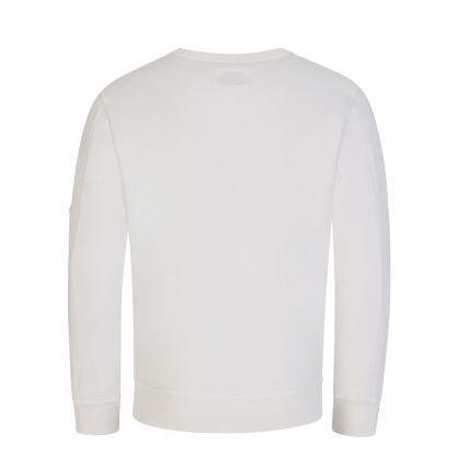 White Lens Fleece Sweatshirt