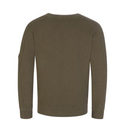 Green Fleece Lens Sweatshirt