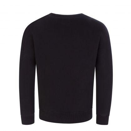 Classic Black Lens Fleece Sweatshirt