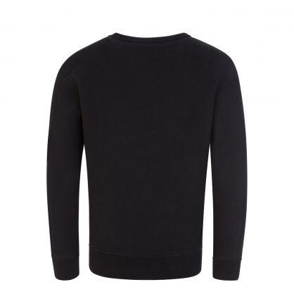 Black Lens Fleece Sweatshirt