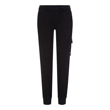 Black Fleece Cargo Sweatpants