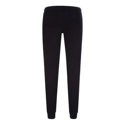 Black Fleece-Mixed Basic Cargo Sweatpants