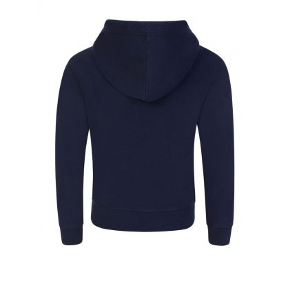 Kids Navy Relaxed-Fit ICON Hoodie