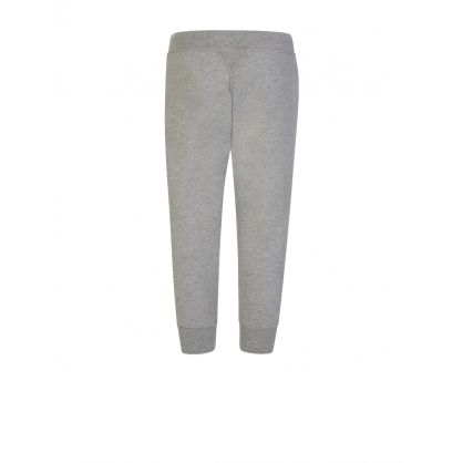 Kids Grey Leg Logo Sweatpants