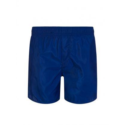 Kids Navy Classic Logo Swim Shorts