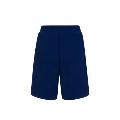 Kids Blue DSQ2 Cotton Sweat Shorts