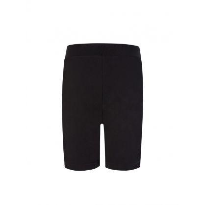 Kids D2Kids Black Boxer Logo Shorts