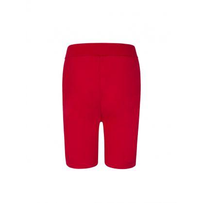 Kids Red D2Kids Boxer Logo Shorts