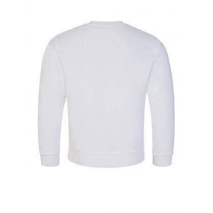 Kids White 1964 Logo Sweatshirt