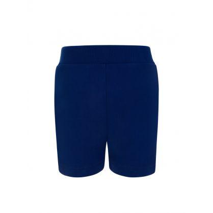 Kids Navy D2Kids Boxer Logo Shorts