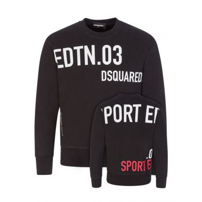 Kids Black Sport Edition.03 Sweatshirt