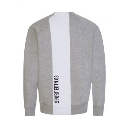 Kids Grey Sport Edtn. Stripe Sweatshirt