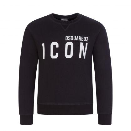 Kids Black ICON Sweatshirt