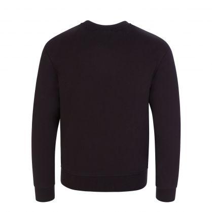 Kids Black ICON Tape Sweatshirt