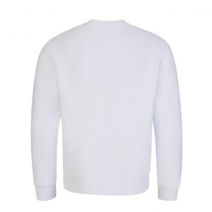 Kids White ICON Covered Logo Sweatshirt