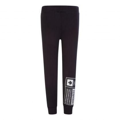 Kids Black DSQ2 Sweatpants