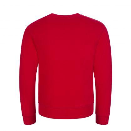 Kids Red Logo Sweatshirt