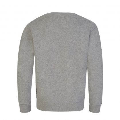 Kids Grey Cool-Fit Leaf Logo Sweatshirt
