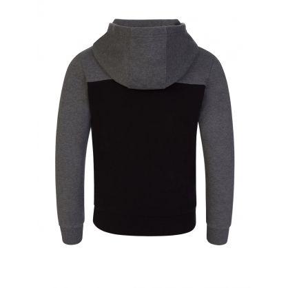 Junior Logo Grey/Black Hoodie