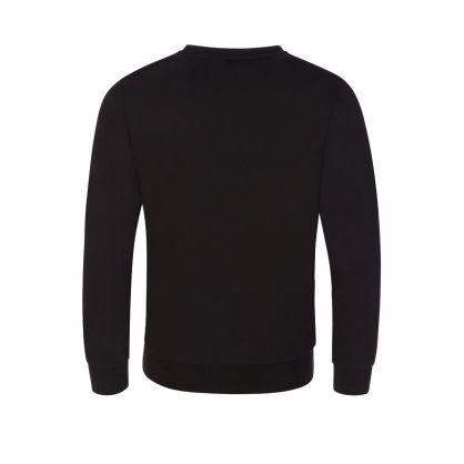 Junior Black Logo Graphic Sweatshirt