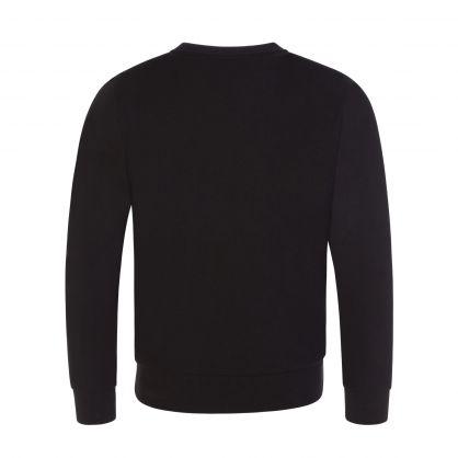 Junior Black Logo Sweatshirt