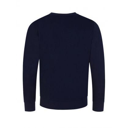 Junior Navy Blue Logo Sweatshirt