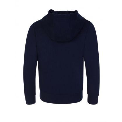 Junior Navy Logo Sweatshirt Hoodie