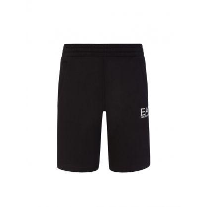 Junior Black Sweat Shorts