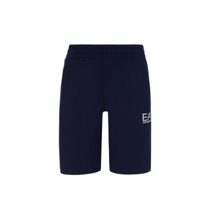 Junior Navy Blue Sweat Shorts
