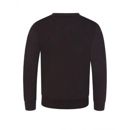 Junior Black Camo Logo Sweatshirt