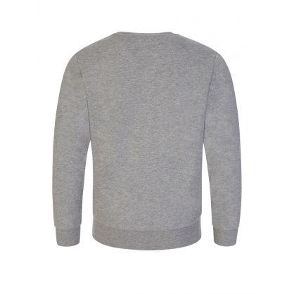 Junior Grey Camo Logo Sweatshirt