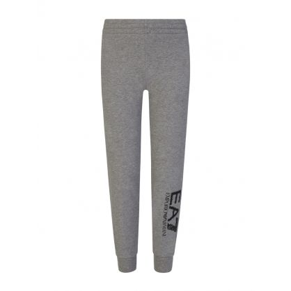 Junior Grey Camo Logo Sweatpants