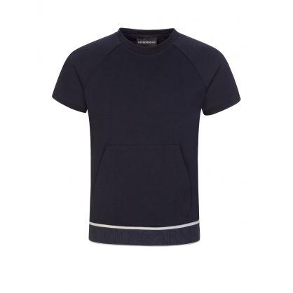 Junior Navy T-Shirt & Sweatpants 2-Piece Set