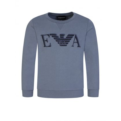 Junior Grey Eagle Logo Sweatshirt