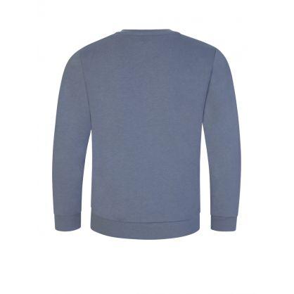 Junior Grey Eagle Logo Sweatshirt