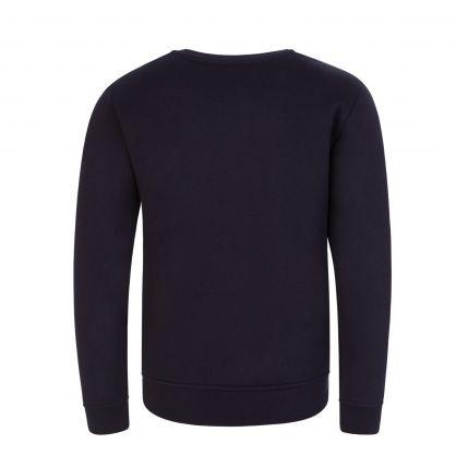 Junior Navy Logo Sweatshirt