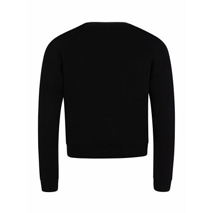 Kids Black Active Sweatshirt