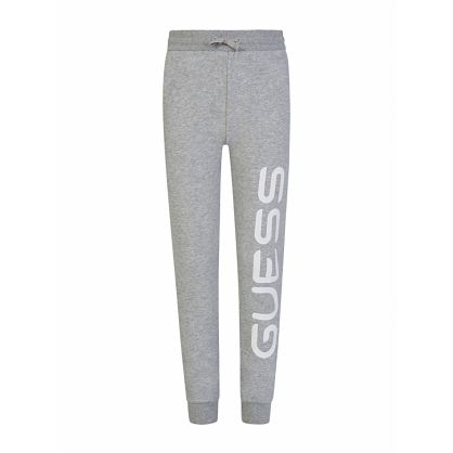 Kids Grey Logo Sweatpants