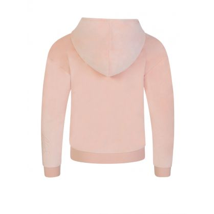 Kids Pink Zip-Through Hoodie