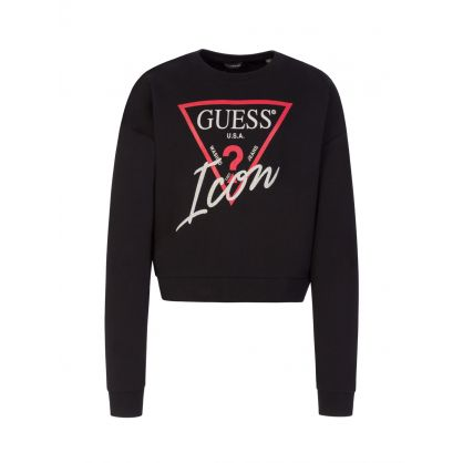Kids Black Icon Sweatshirt