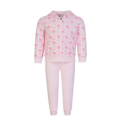 Kids Pink 2-Piece Tracksuit Gift Set