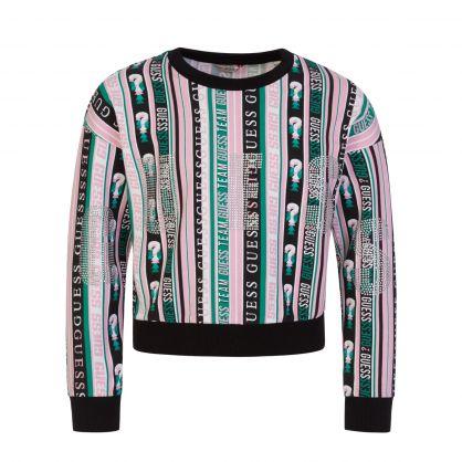 Kids Multicolour Stripe Sweatshirt