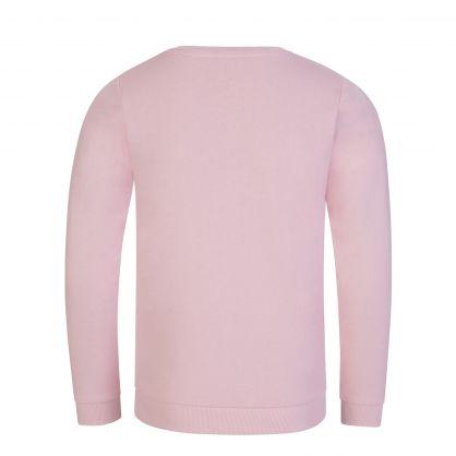 KIDS Pink Activewear Logo Sweatshirt