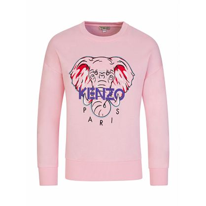 Pink 'Disco Jungle' Elephant Sweatshirt