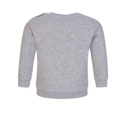 Grey Astrology Elephant Sweatshirt